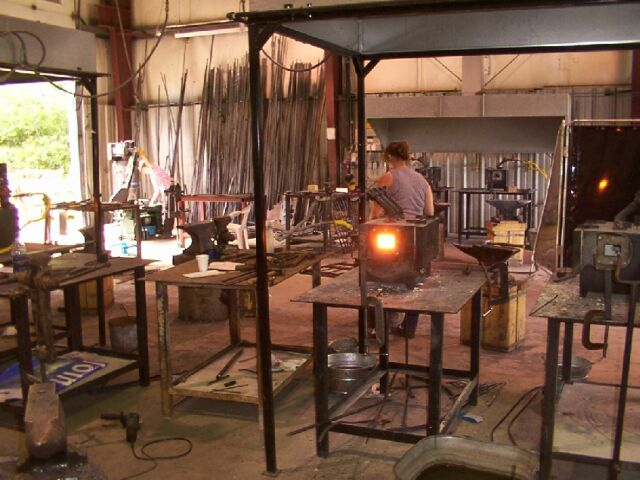 Ontario Blacksmithing Courses | Haliburton School of the Arts Summer, instructed by David Robertson.
