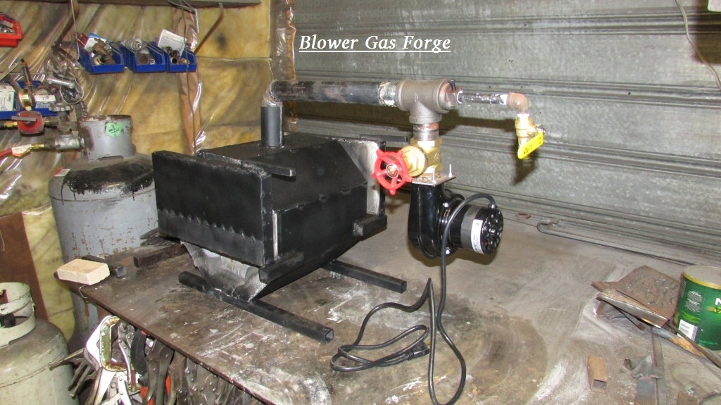 Blacksmith                                                           Forge with                                                           Blower                                                           attachement.