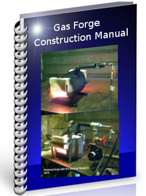 Blacksmith Gas Forge Plans ebook cover image